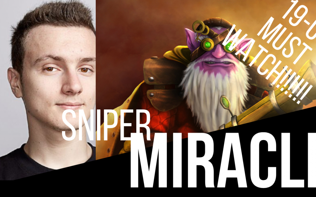 Miracle Sniper – Dota 2 Gameplay – BROKEN HERO!! MUST WATCH