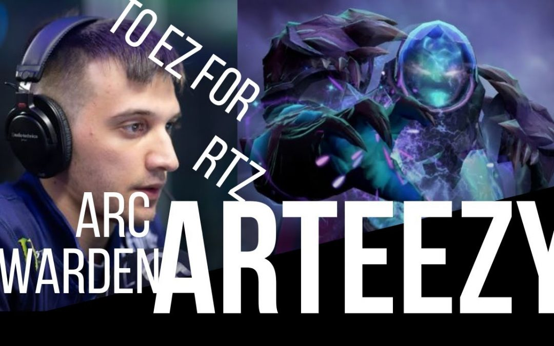 Arteezy Arc Warden – Dota 2 Gameplay – BROKEN HERO