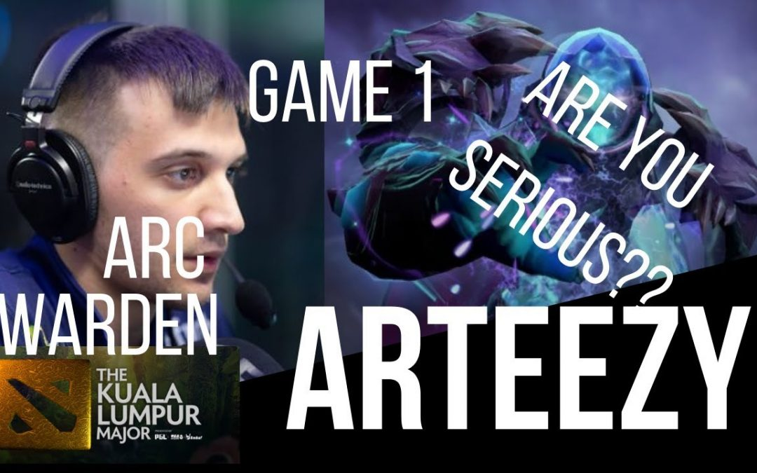 ARC WARDEN SPAMMERS TAKE NOTES Dota 2 Gameplay Vids