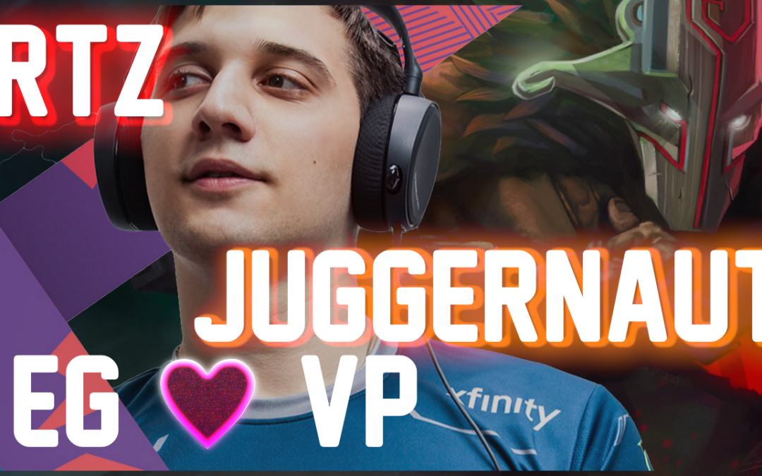 Arteezy Juggernaut – Dota 2 Gameplay – BLEED BLUE